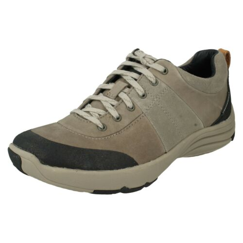 LADIES CLARKS WAVE ANDES LACE UP NUBUCK WALKING OUTDOOR TRAINERS CASUAL SHOES