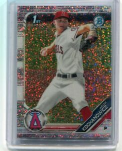 2019 Bowman Chrome Draft #CDA-JK Jack Kochanowicz White Sparkle Refractor RC