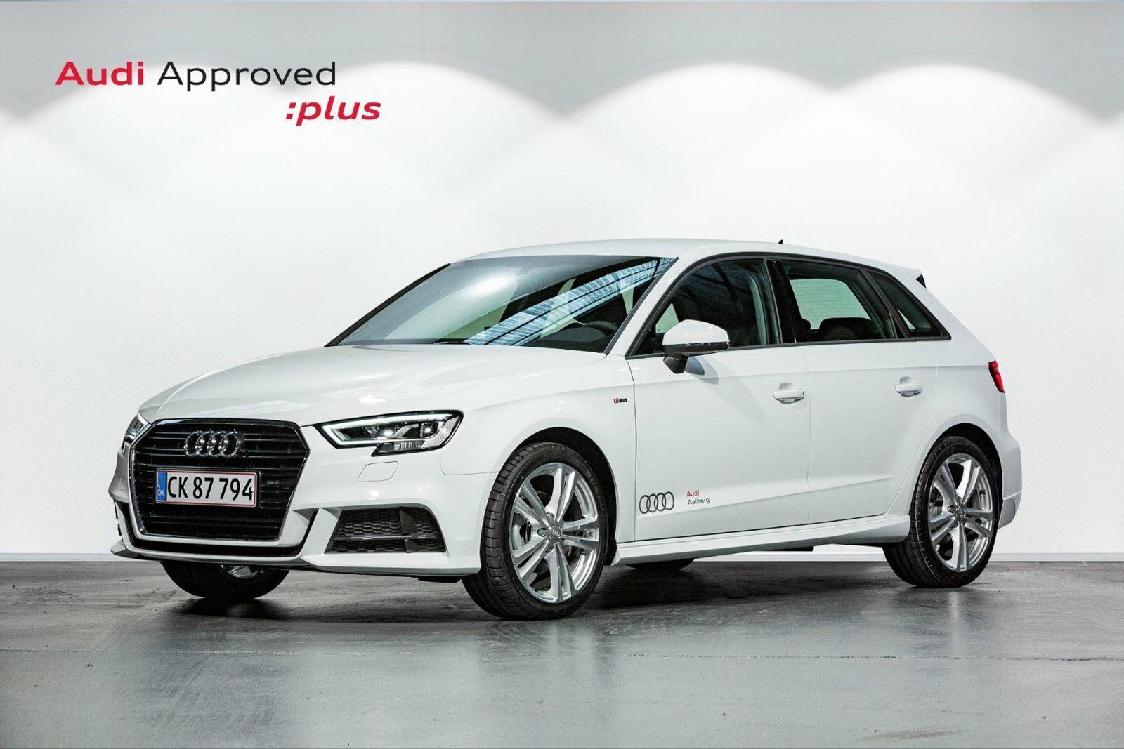 Audi A3 30 TDi Sport Limited SB 5d - 280.000 kr.