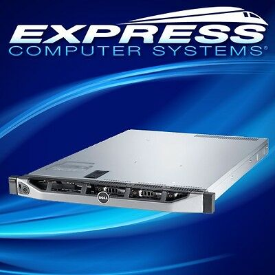 Dell PowerEdge R420 2x Heat Sinks, iDRAC7 Enterprise 2x PSU PERC H310, 2x  Risers | eBay