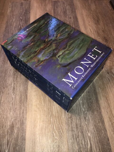 Monet: Catalogue Raisonné - COMPLETE 4 Volume Set - Wildensten - Nice!