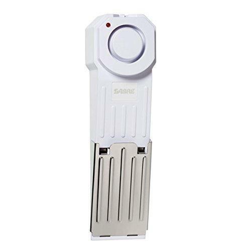 Home SABRE Wedge Door Stop Security Alarm with 120 dB Siren Travel Security