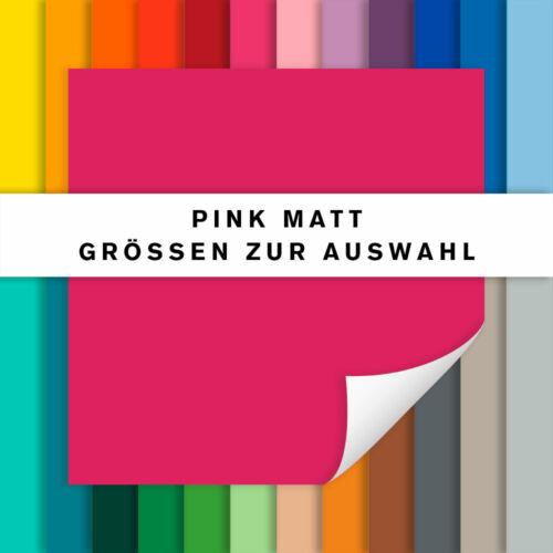 Fliesenaufkleber pink mattFliesensticker für Küche und Badalle Größen