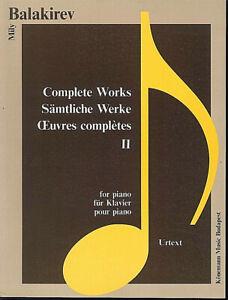 Mily-Balakirev-Saemtliche-Werke-Band-2-fuer-Klavier-Urtext