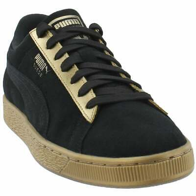 puma suede classic metallic lace up womens sneakers shoes