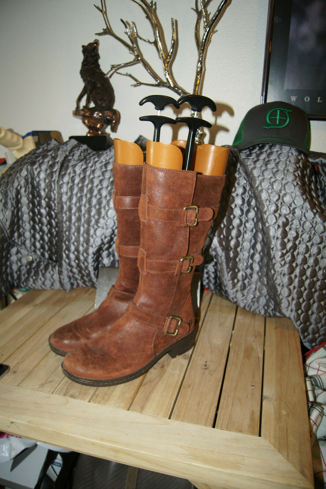 Women's Born Leather Boots Booties Size Size Size 8 born boots 8 LEATHER BOOTS 8 ac16dc