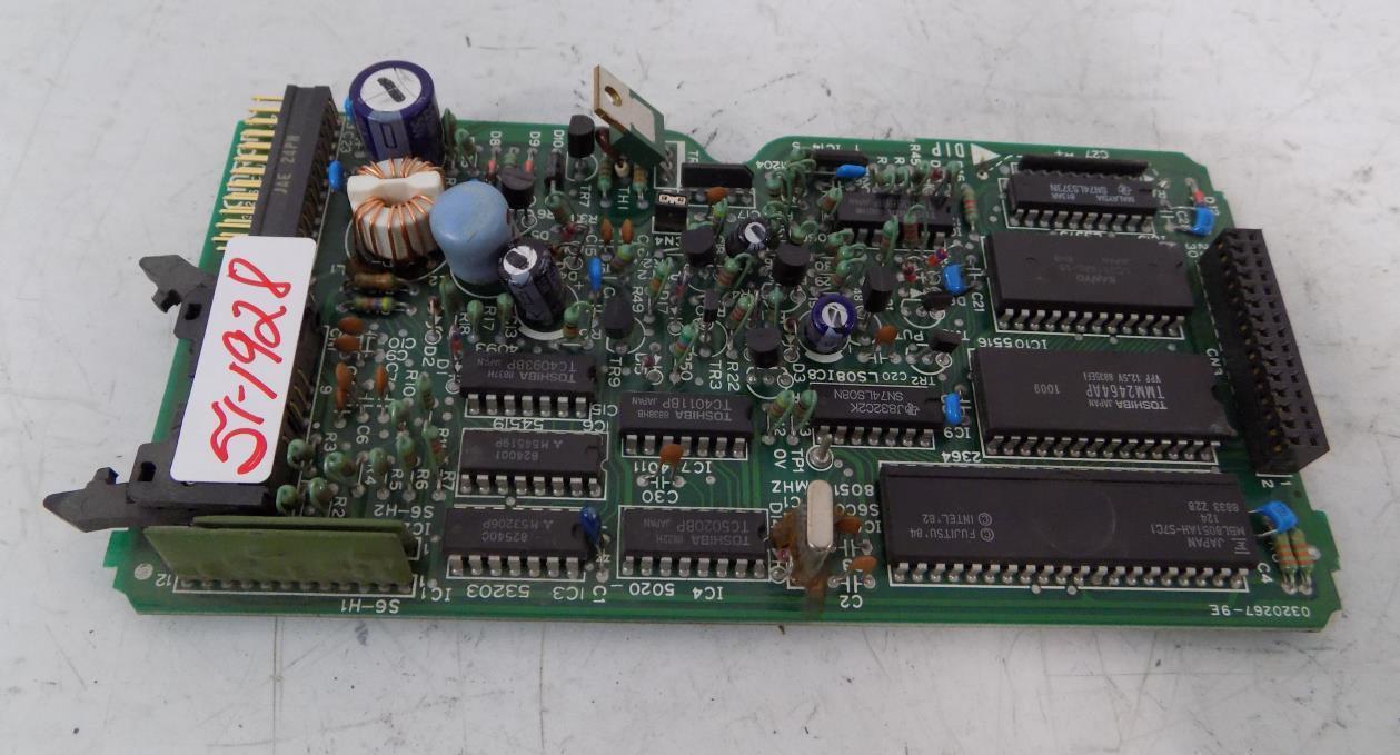 OMRON PC CIRCUIT BOARD 0320267-9E   3G2S6-CPU11