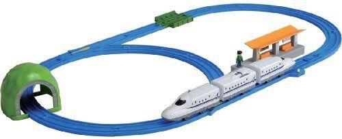 NEW Pla järnväg Pla järnväg N700A Shinkansen Basic Set  C1 F  S