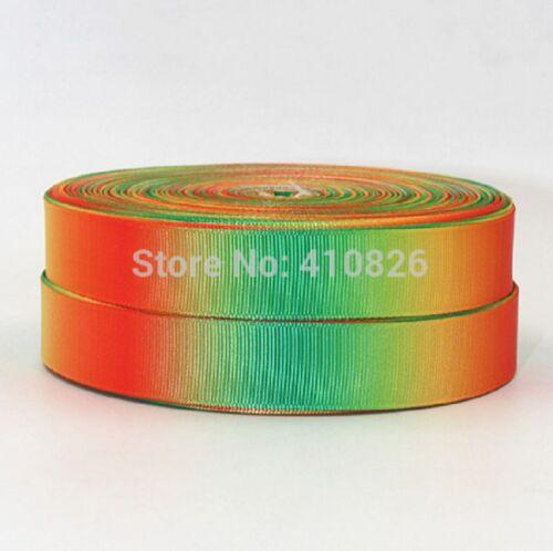 """1m cinta de Verano a Rayas orgullo Pastel 3//8 9mm 7//8 22mm y 1/"""" 25mm Cabello Moño Pastel"""