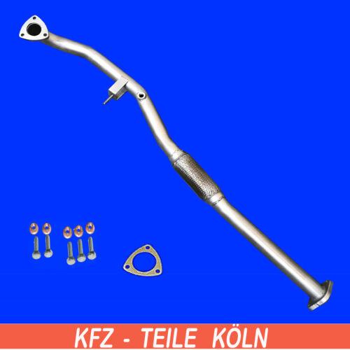 Hosenrohr Flexrohr Abgasrohr Opel  Vectra B  1.8i 16V Montagesatz