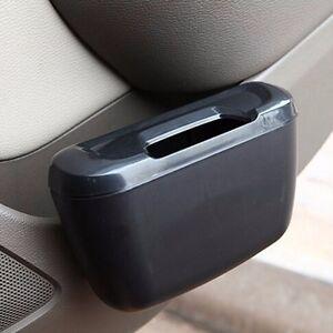 Mini-Vehicle-Auto-Car-Garbage-Dust-Case-Holder-Box-Bin-Trash-Rubbish-Can-Black