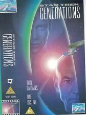 Star Trek 7 - Generations (VHS) William Shatner, Patrick Stewart