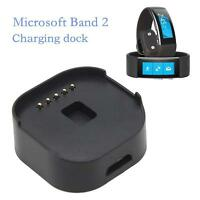 Portable Micro Usb Charger Cradle Dock For Microsoft Band 2 Fitness Tracker