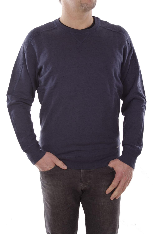 Diesel S-Gladys Felpa Herren Sweatshirt Blau
