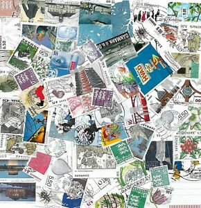 Denmark-good-lot-recent-stamps-2007-2015-cancelled-AFA-cat-US-115