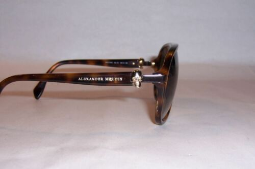 NEW ALEXANDER MCQUEEN SUNGLASSES AMQ 4179//S HAVANA//BROWN 05L-CC AUTHENTIC