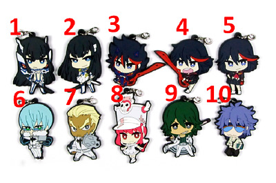 Hot Japan Anime KILL la KILL Ryuuko Charm Rubber Strap Keychain Pendant F20