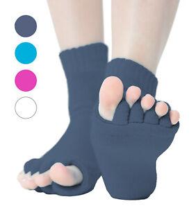 Zehenspreizer-Socken-1-Paar-Zehenstrecker-Hallux-Valgus-Pedikuere-Toe-Seperator