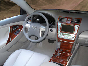 dash trim kit 32 pcs upgrade kit 10pcs toyota camry 2007 2012 with nav syst. Black Bedroom Furniture Sets. Home Design Ideas