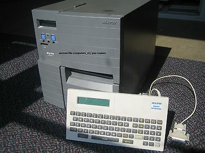 Serial Including Keyboard Trendmarkierung Sato Lm408e-2 Lm408e Label Thermal Barcode Printer