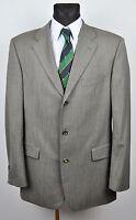 HUGO BOSS Textured Pattern Grey Blazer UK 42L Jacket Suit 52L EUR 102 Gr Herren