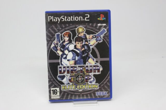 VIRTUAL COP ELITE EDITION   SONY PS2 PLAY STATION PS 2 INV-3421