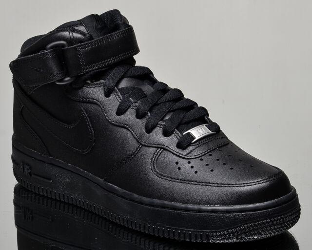Nike Wmns Air Force 1 Mid ′07 LE Black/ Black dégagement bFWcvJ9
