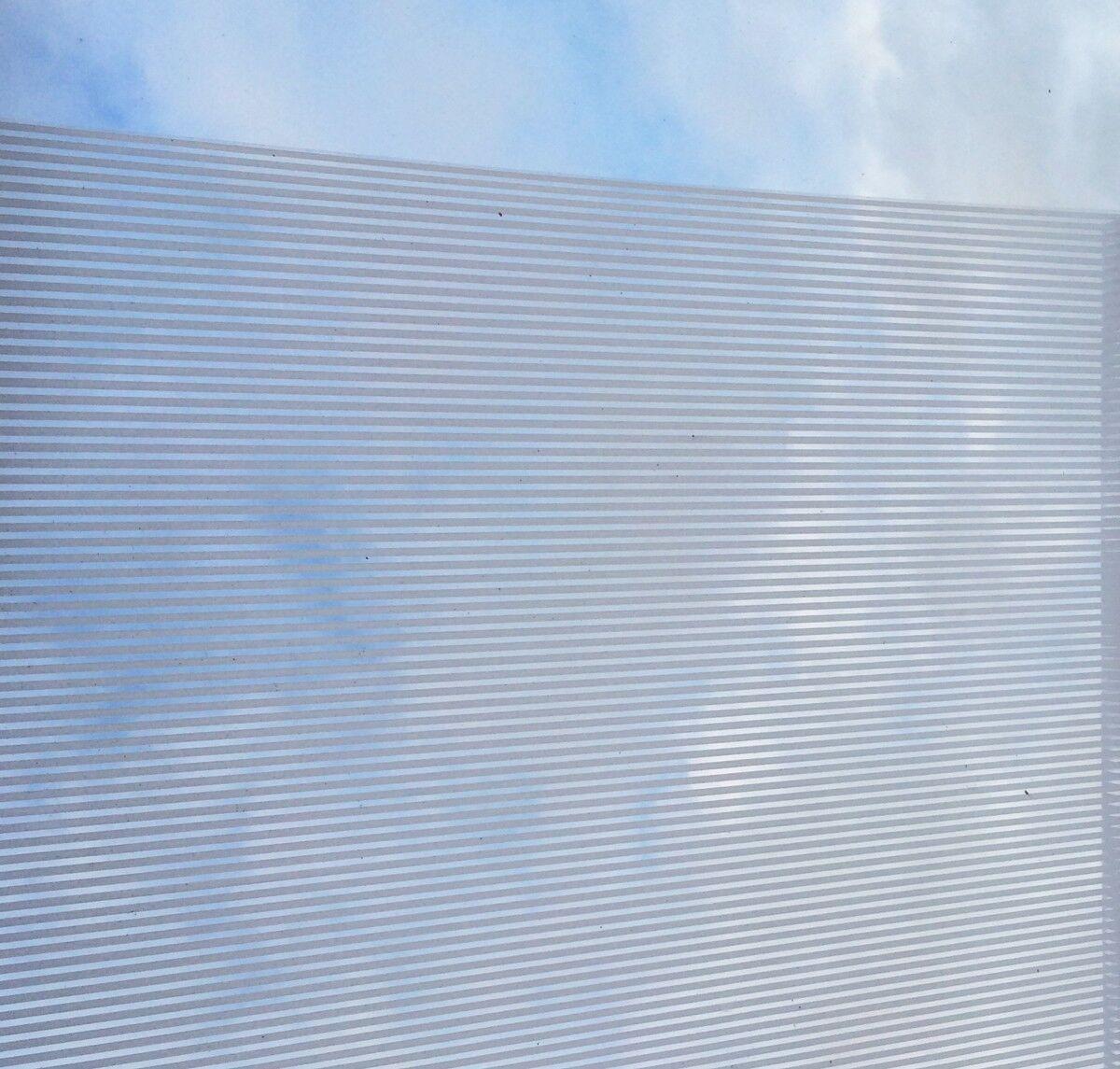 ( 1qm) finestra statica pellicola vitrostatic Pellicola Decorativa STRIPES STRISCE