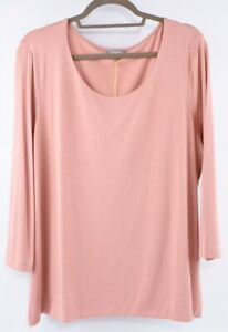 JAEGER-Women-039-s-Essential-Top-Dusky-Pink-size-XL