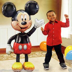 Mickey-Mouse-52-034-Jumbo-AirWalker-Foil-Balloon-Birthday-Decoration-Party-Supplies