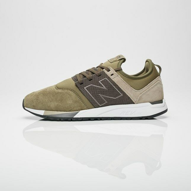 New Balance 247 Lifestyle chaussures vert Beige MRL247RG  US Mens Taille 13