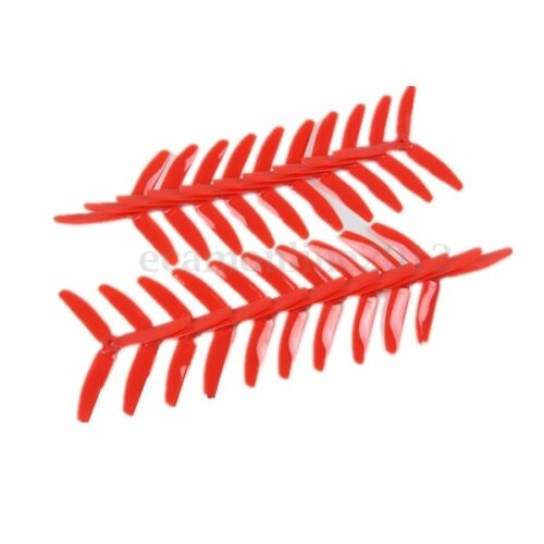 10 Pairs KINGKONG//LDARC 5040 5x4x3 3-Blade CW CCW Propellers For FPV  Quadcopter