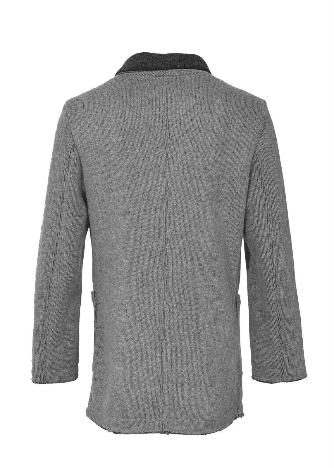 YES ZEE by ESSENZA Cappotto in monopetto lana bicolore chiusura monopetto in con bottoni 99a1fb