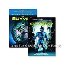 The Guyver: Mark Hamill Sci-fi Dark Hero Movies 1 & 2 Box / DVD Sets NEW!