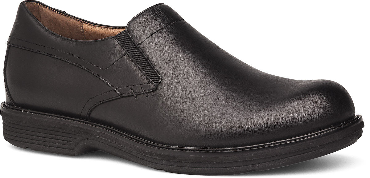 Men's Dansko Jasper Jackson Slip Resistant SlipOn shoes Black Leather
