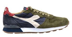 Dettagli su DIADORA HERITAGE CAMARO H S SW scarpe uomo sneakers pelle camoscio vintage