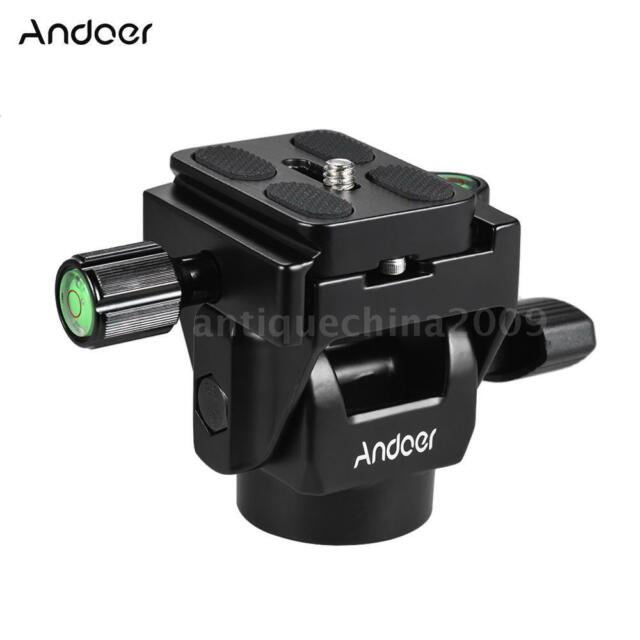Pro Andoer M-12 DSLR Camera Monopod Head with 1pcs Quick Release Plate New R8W0
