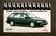 I970-Advertising Pubblicità-1995- HONDA ACCORD AERO DECK,CARATTERE INDIPENDENTE