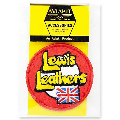Official LL Logo Leaves Patch by Lewis Leathers Aviakit