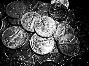 Image Is Loading 1916 1947 One 1 Xf Au Silver Walking