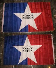 3x5 City of San Antonio Texas 2 Faced 2-ply Wind Resistant Flag 3x5ft