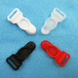 4-SUSPENDER-ENDS-4-COLOURS-12mm-STOCKING-FASTENERS-PLASTIC-GARTER-CLIPS