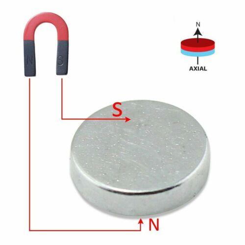 100 50 PC Strong N35 Round Disc Neodymium Mini Fridge Magnets Rare Earth 6mm*3mm