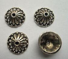 20pcs beautiful Tibet silver Flower End Beads Caps 5x13mm