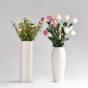 Modern streamline ceramic vase white porcelain flower vase home image is loading modern streamline ceramic vase white porcelain flower vase mightylinksfo