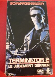 Rare-VHS-French-Movie-Terminator-2-Le-Jugement-Dernier-Judgment-Day