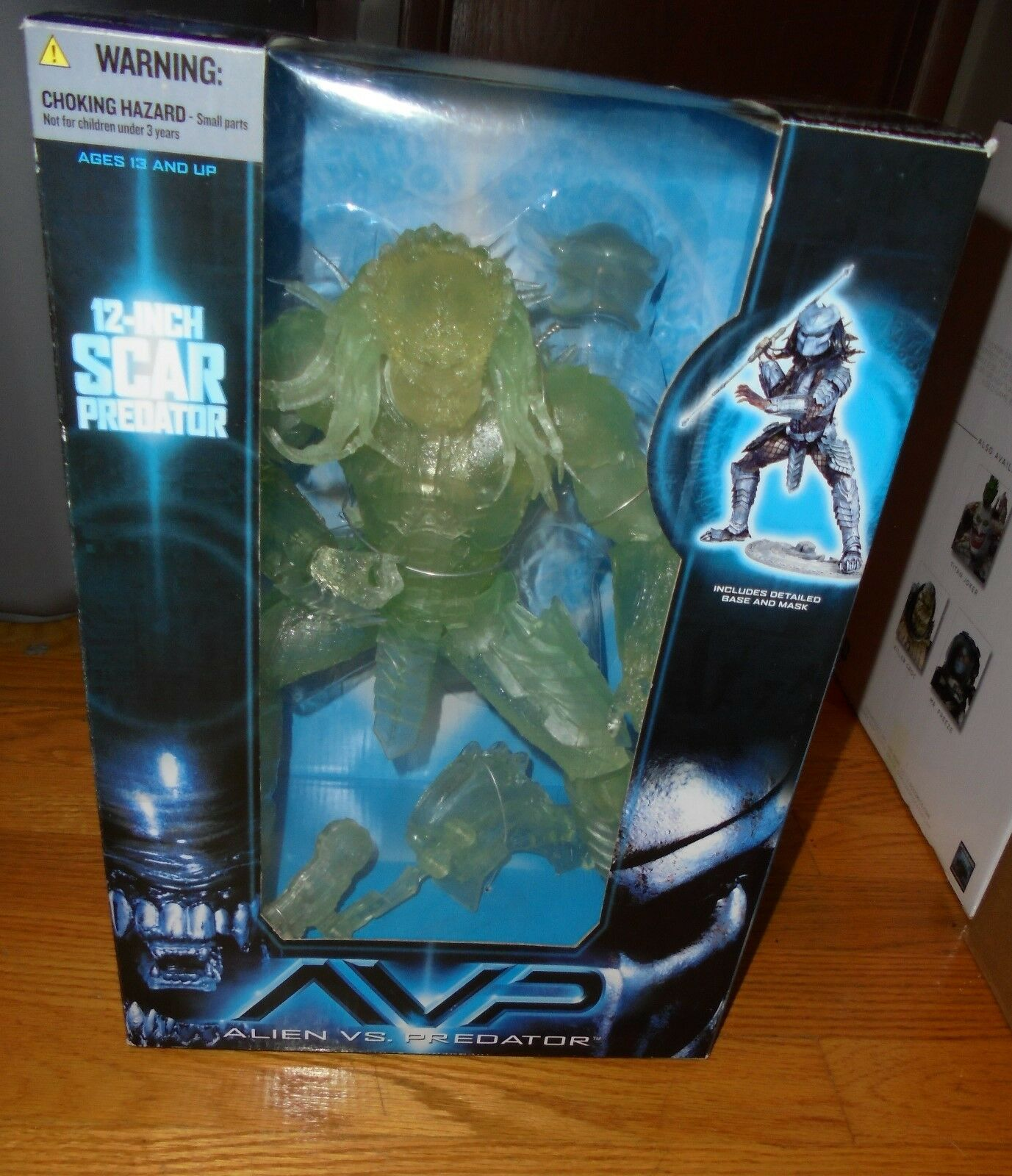 AVP Alien VS Predator  SCAR  Predator 12 12 12 inch action figure McFarlane 2006 cee878