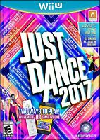 Just Dance 2017 (Nintendo Wii U, 2016) Video Games