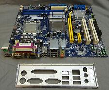 FOXCONN PC g31mx-ka LGA775 scheda madre completa con I / O back plate e processore