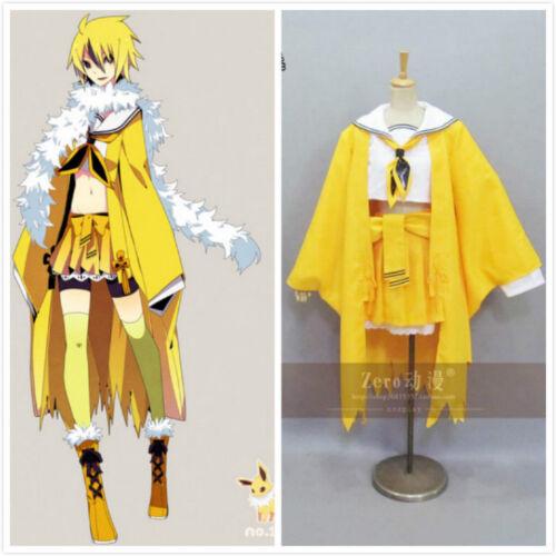 NEW Pokemon Jolteon cosplay costume custom made A.013
